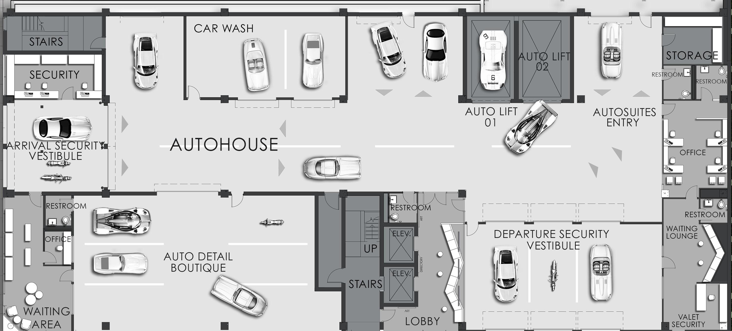 Car Coordinates Document Floor Plan Audit